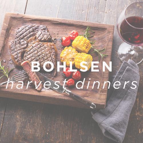 Bohlsen Restaurant Group - Harvest Dinners