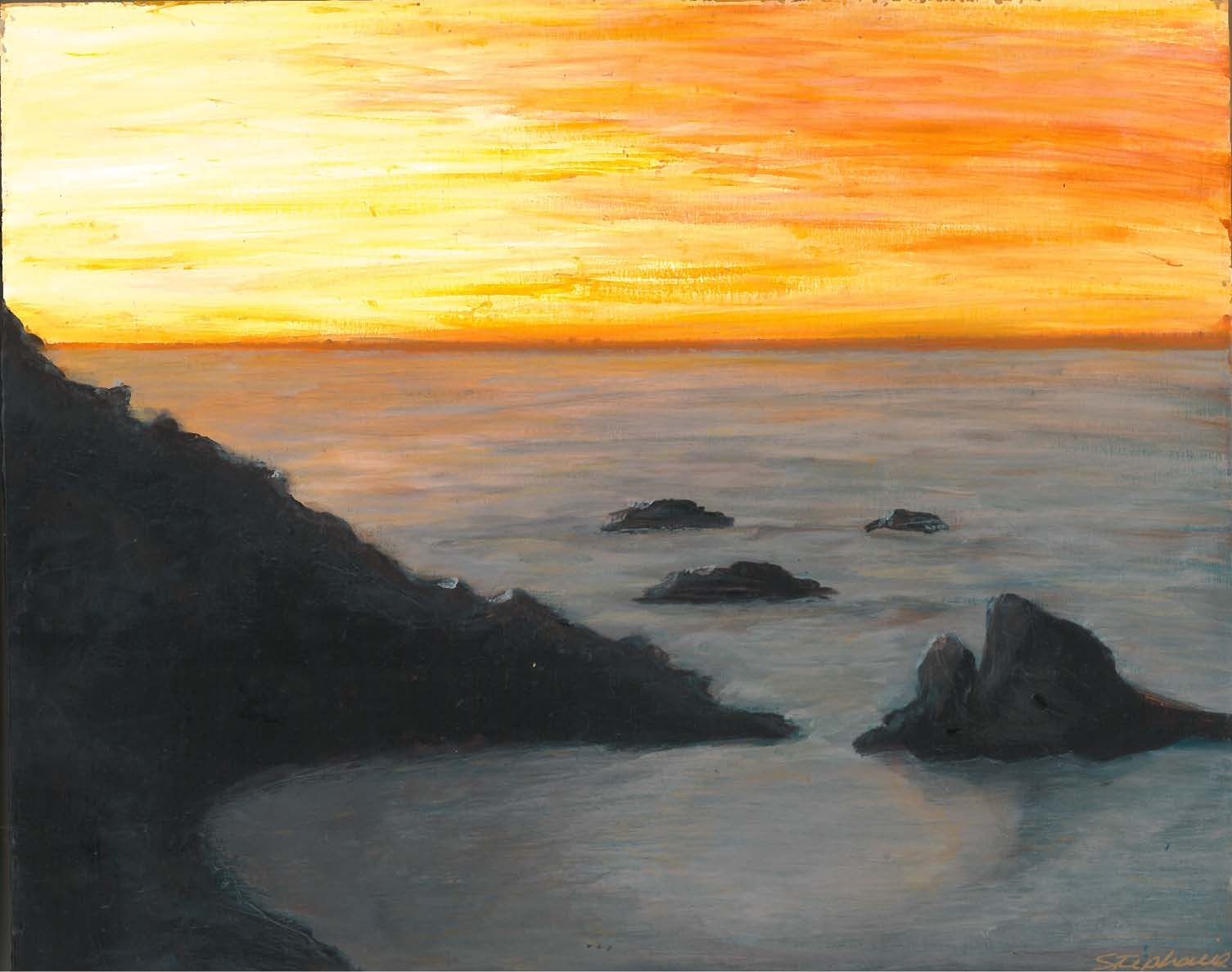 (SOLD) ALBION SUNSET