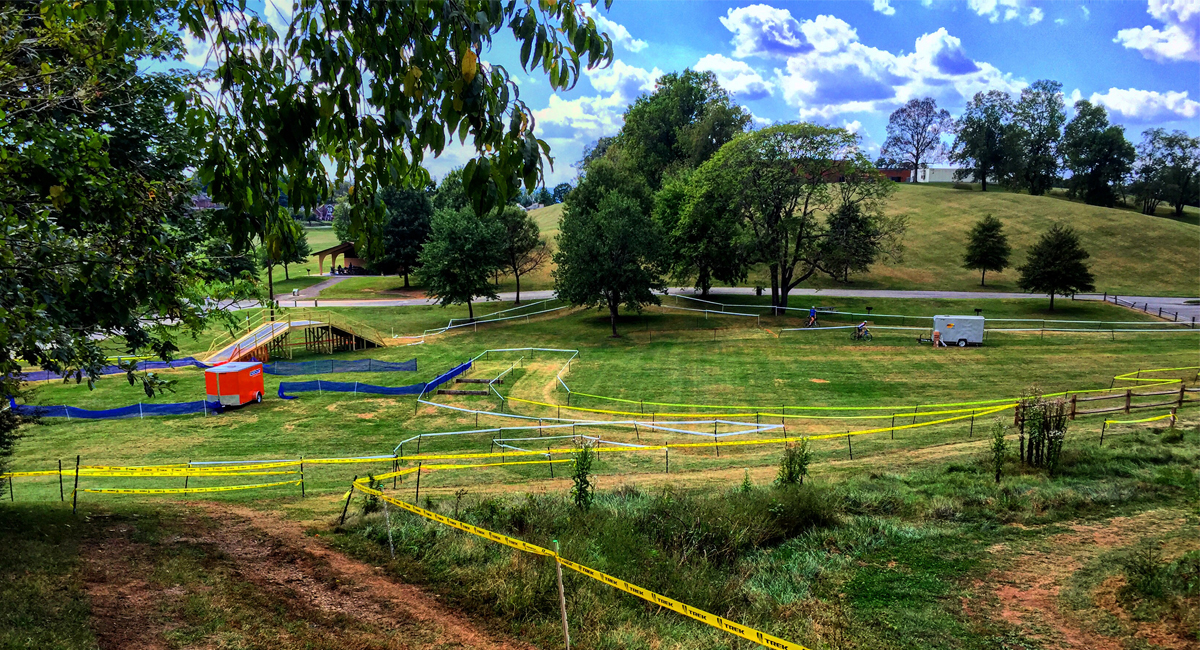 Roanoke's Cyclocross Course