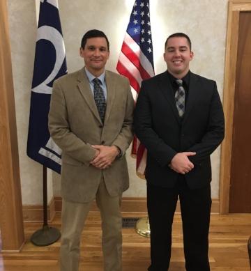 Officers Lee Ericson and Wyatt Saylor