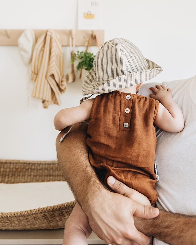 It's been a pretty mild summer in Seattle so far (no complaints here with all.the.sweat. that is taking care of kids each day), but it looks like we're finally getting some beach-worthy weather this weekend. Cue all the rompers and sun hats. ☀️ #sawyergraham
