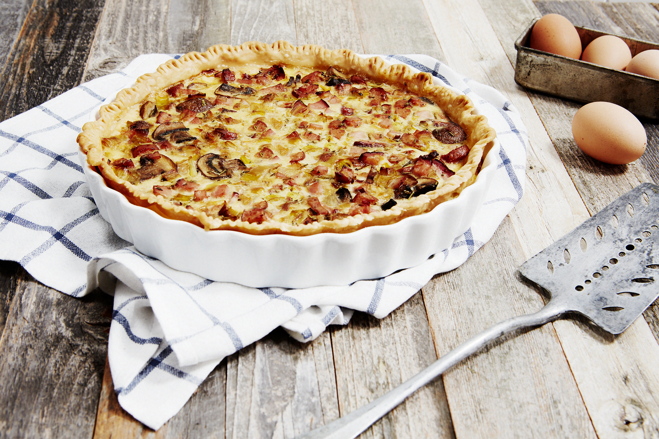 Farmhouse Quiche / Greenridge Farm