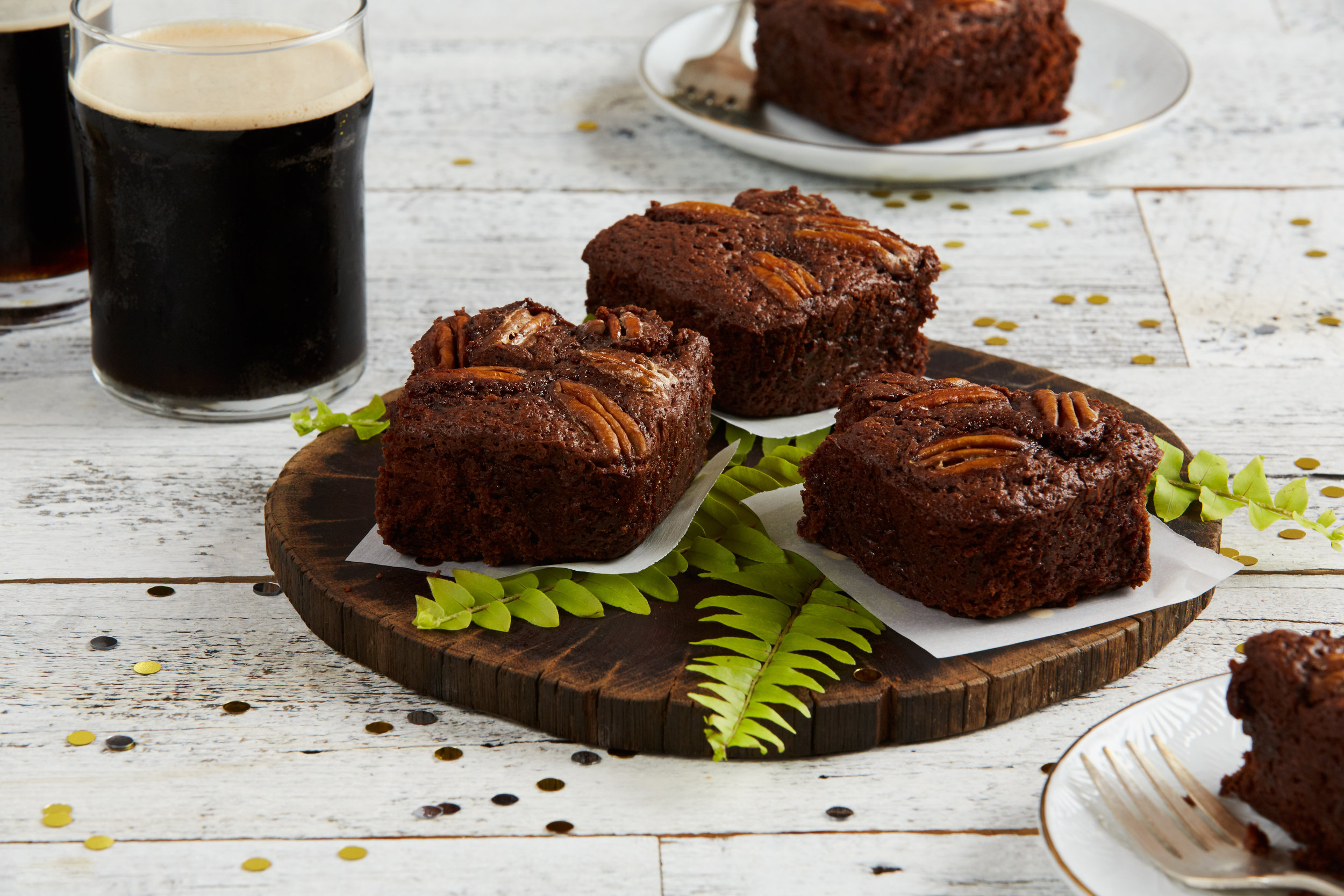 Chocolate Stout Brownies / Reynolds Kitchens