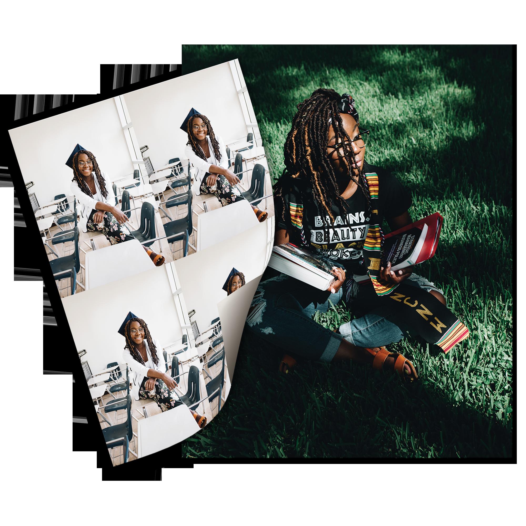 Package #1 Prints: (1) - 8 x 10, (4) - Wallet