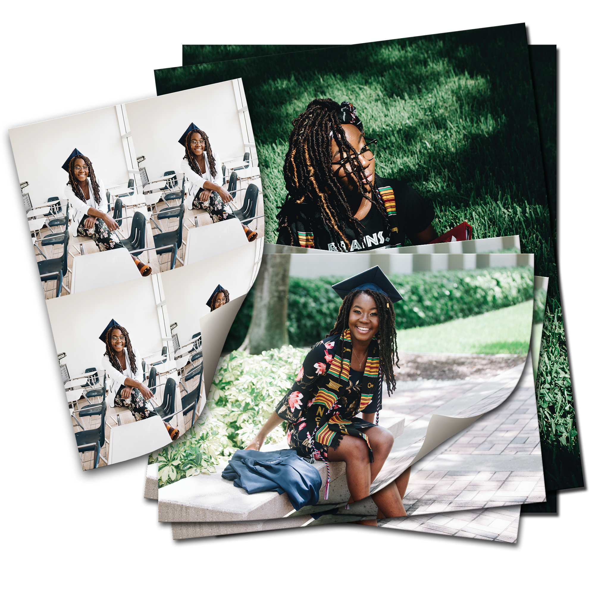 Package #2 Prints: (2) - 8 x 10s, (3) - 5x7s, (4) - Wallet