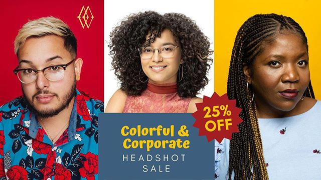 Update your headshot with Marcia's Workshop! Get 25% off! Sale ends August 1st. DM for booking info.