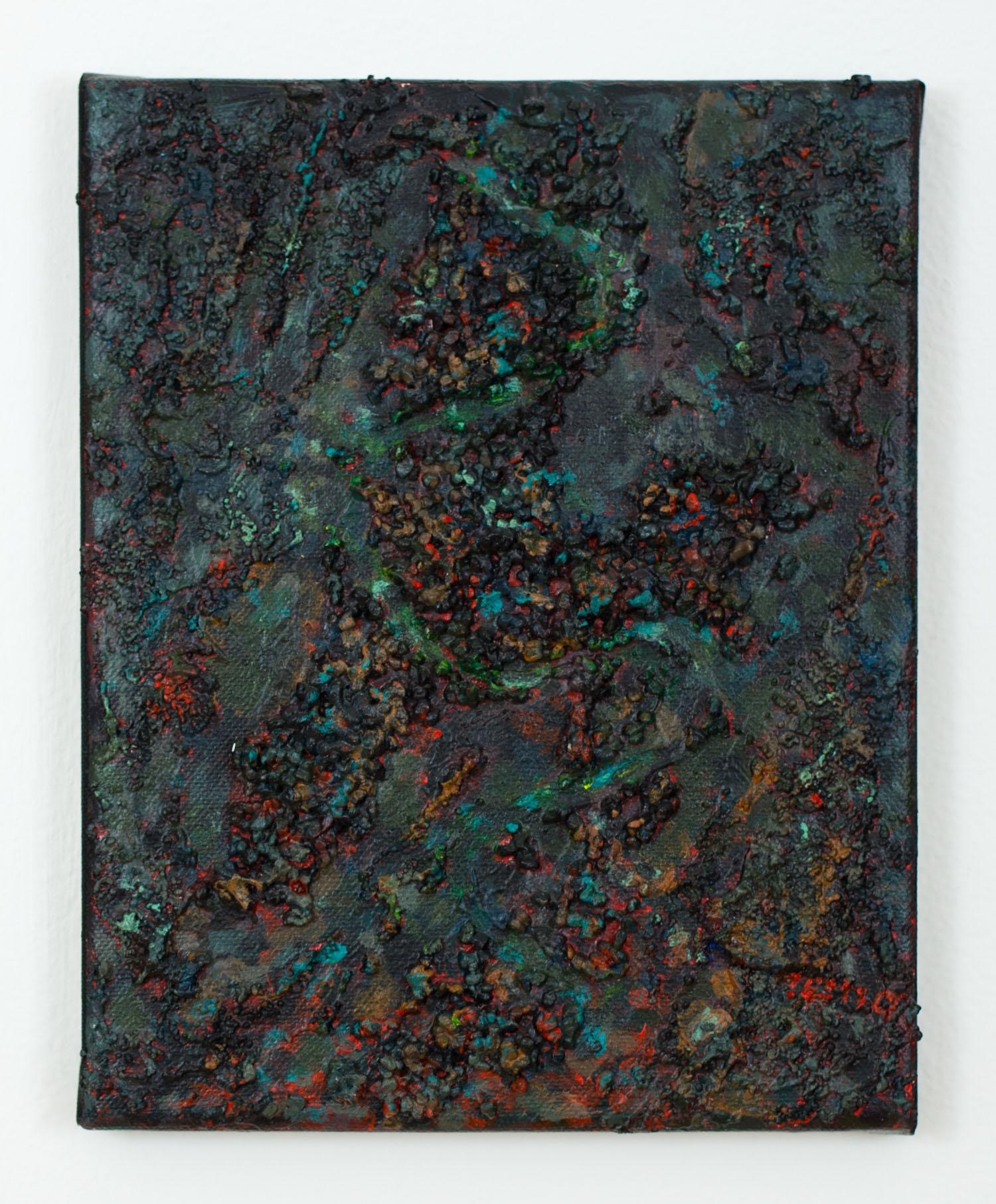 Melissa 2,  November 2012, Acrylic on cotton duck, 10 x 8 in