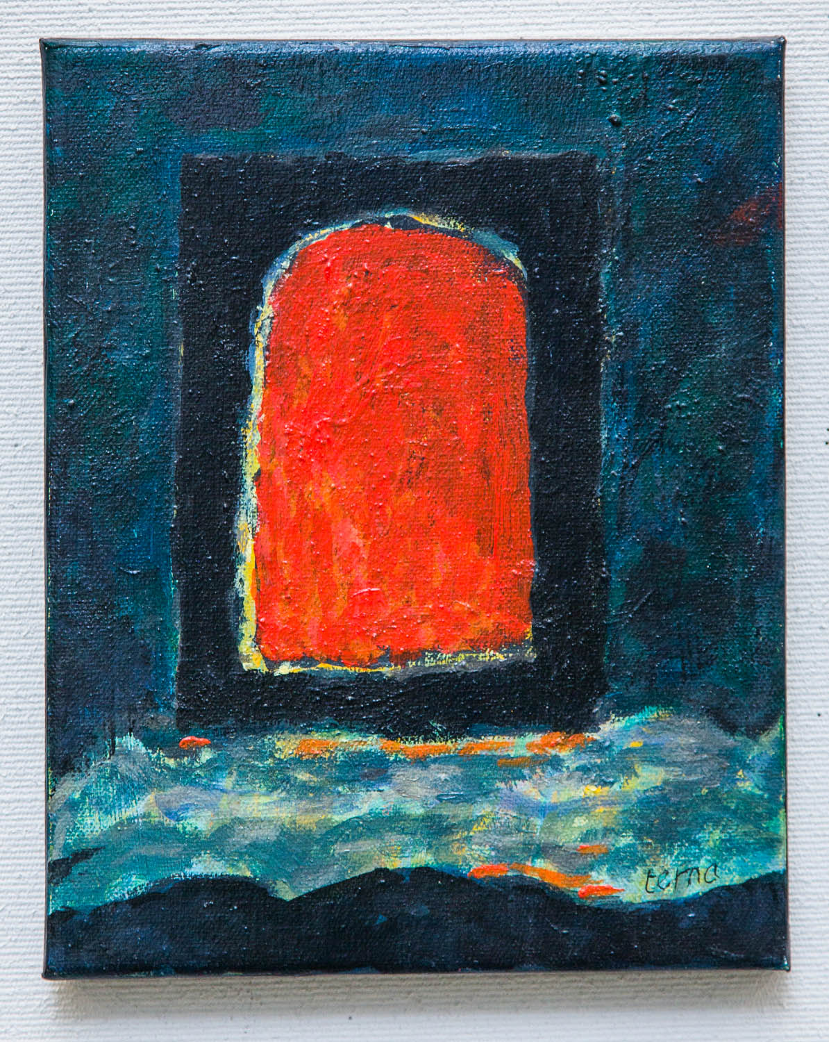 Portal 8 , 2015, Acrylic on cotton duck, 10 x 8 in