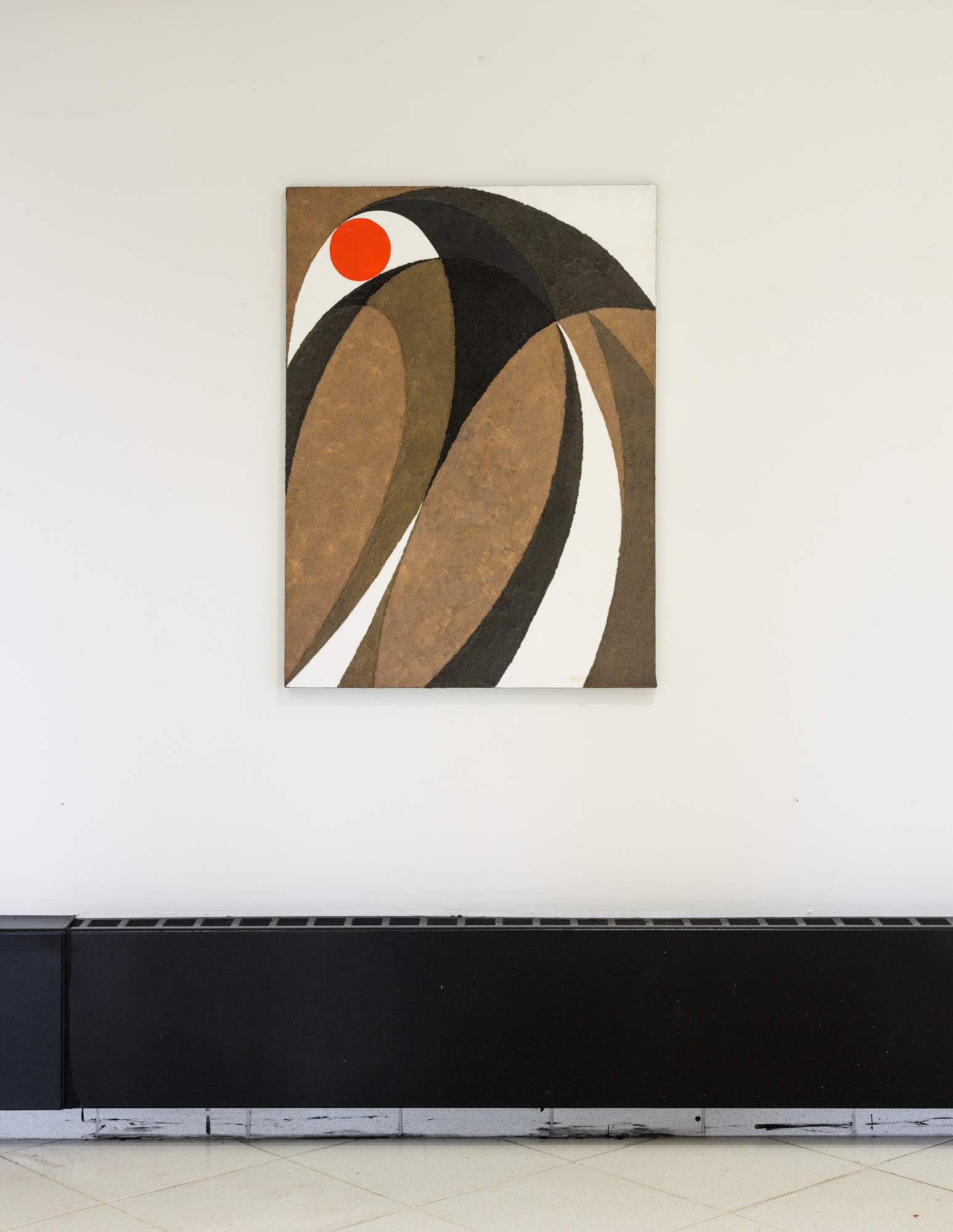 Fred Terna, A Focus on Fusion , 1982, Acrylic on canvas, 40 x 30 inches