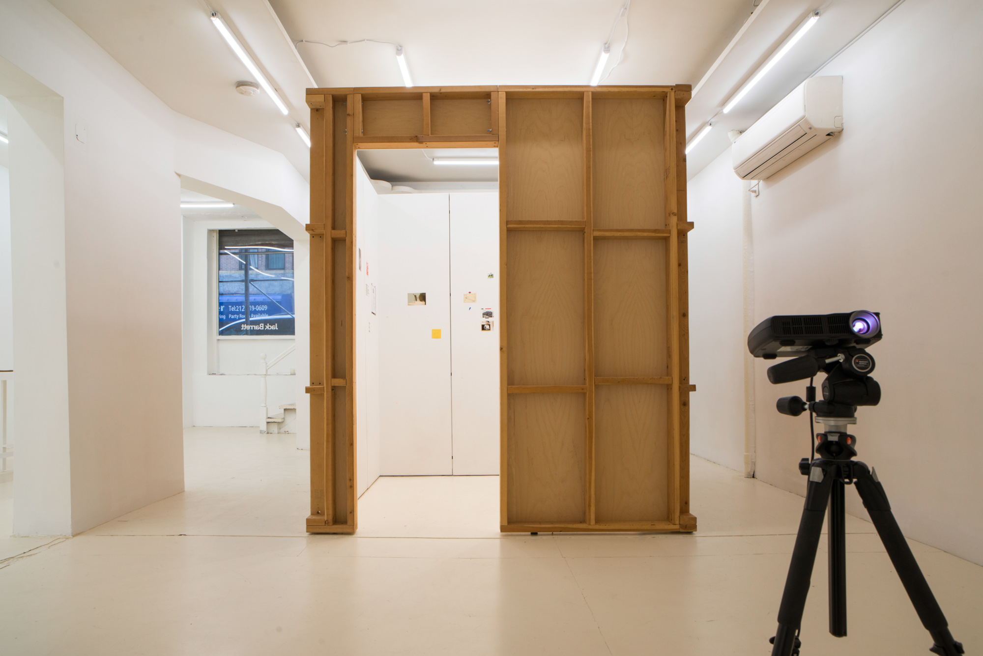 Place/Image/Object , Anna Plesset,  Travelogue (21st Century Room),  2013-2018, Exhibition View, Courtesy Jack Barrett, New York, 2019