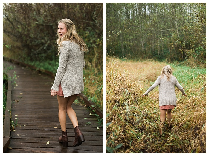 That photo on the right can be summed up in one word: BRAVERY. (I love when my clients trust me and get a little dirt on their shoes!)