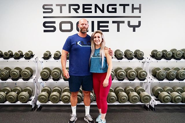 Our girl Morgan! She's been with us 3 times in the last 4 months! She's now completed the ASPD Level 1, Body Composition Training Camp, Hypertrophy Training Camp and added on a one day Private Mentorship with Stephane! We are so happy to have you in the Strength Society family 🙌 We miss you already 😉