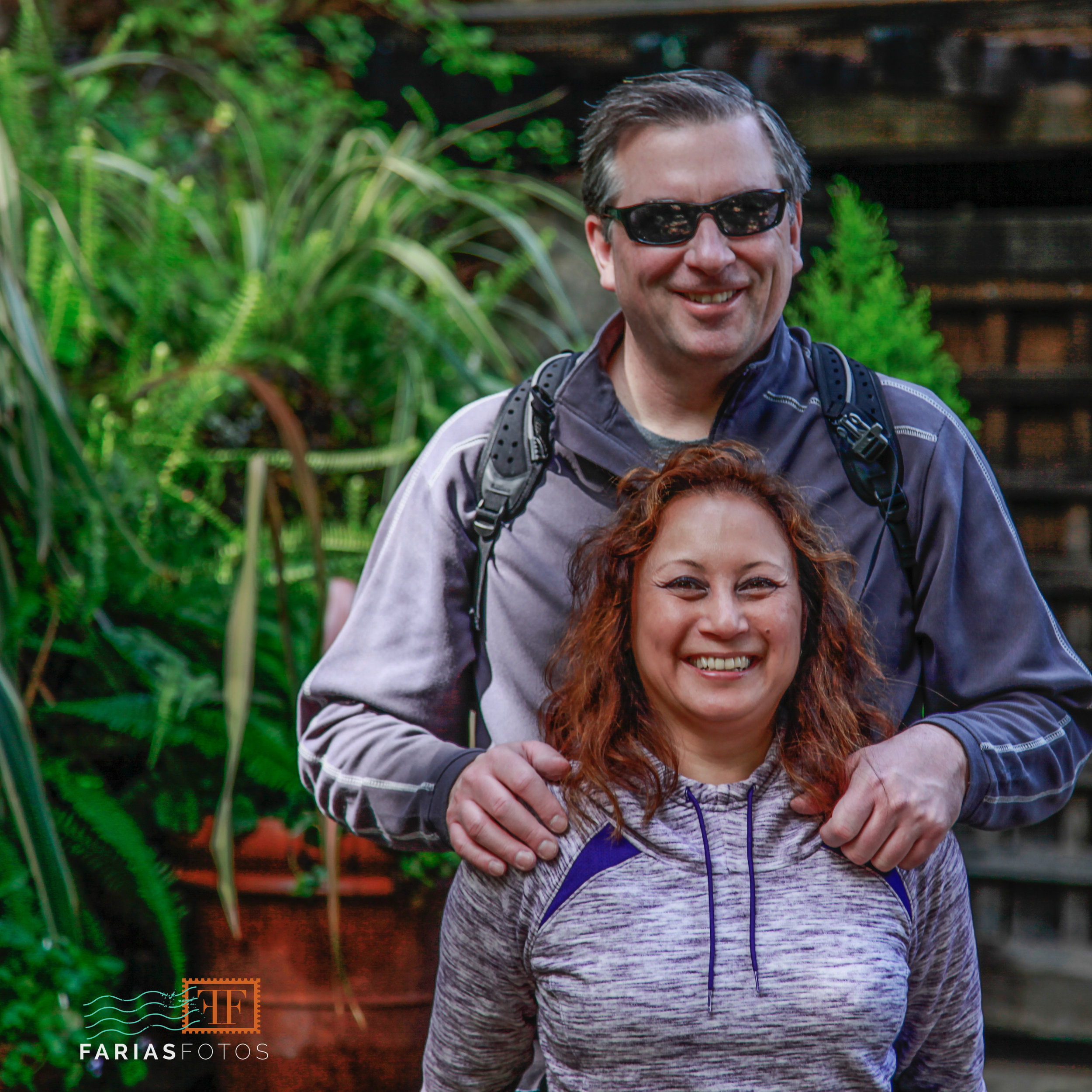 Hiking Napa in 2015 for our 25th and my 50th