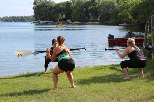 SUP Bootcamp w/ Tammy   A kick butt class that combines total body strength and cardio on your SUP and on land. This class can be modified for any level. No previous experience is necessary.  5:30pm Wed