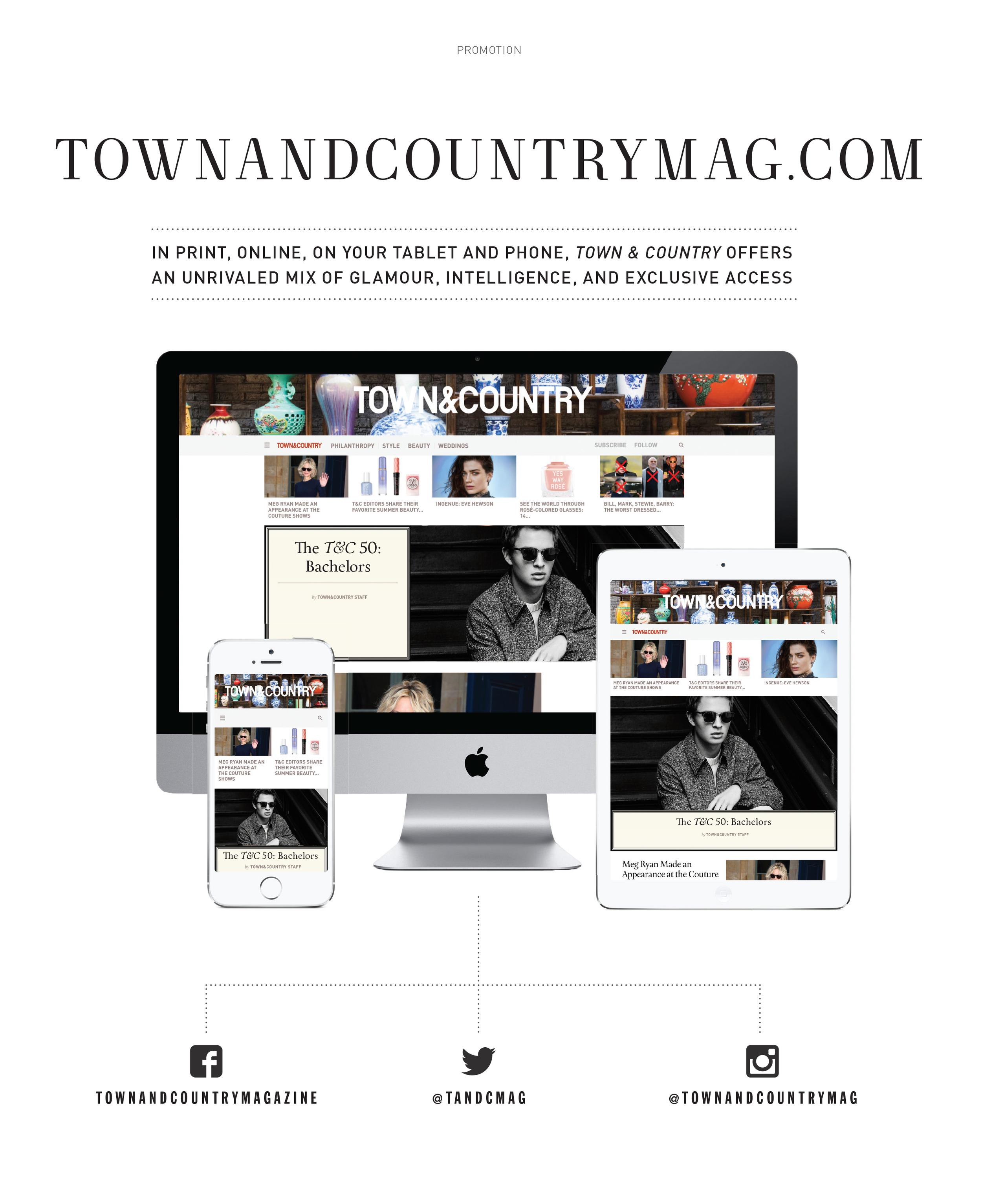 TownandCountryMag.com Ad