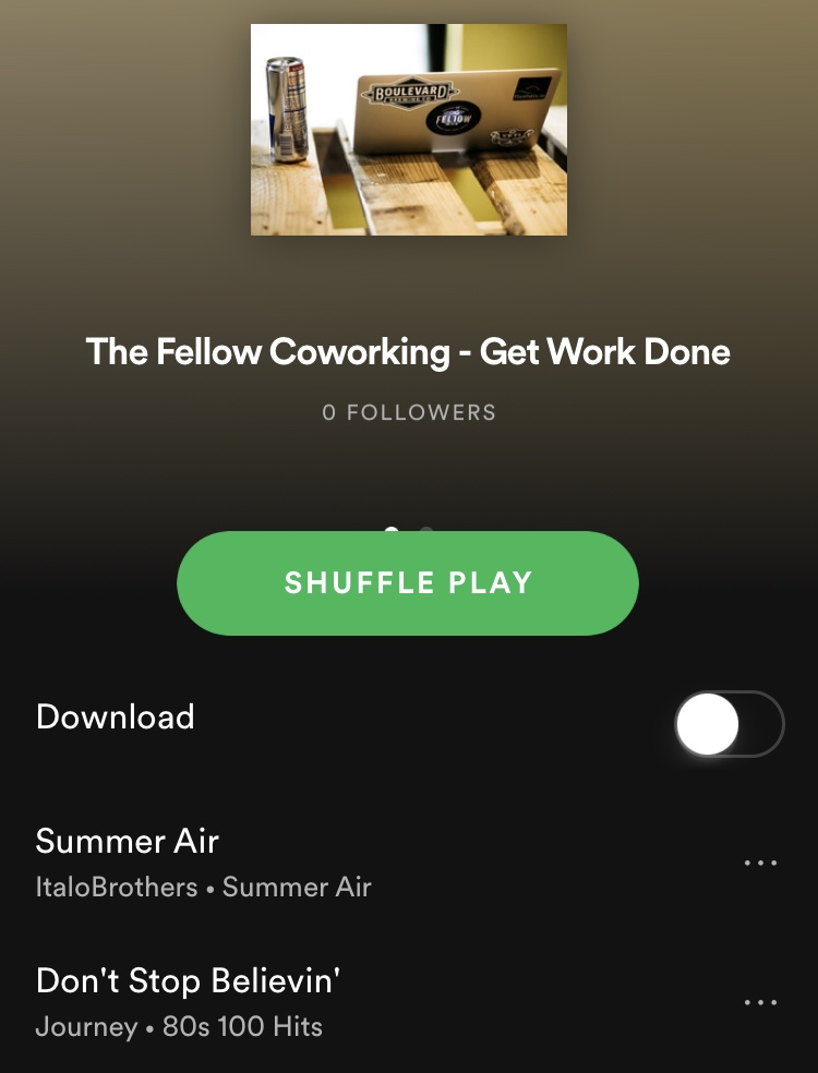 The Fellow Coworking work from home startup business Manhattan Kansas coworking shared office space