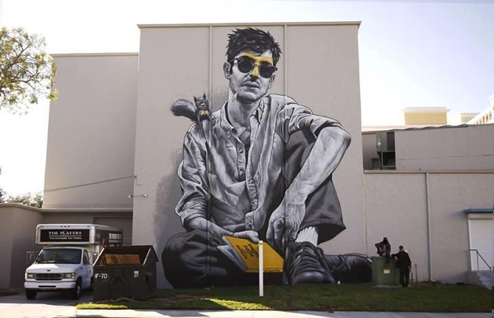 MTO Chalk Festival mural