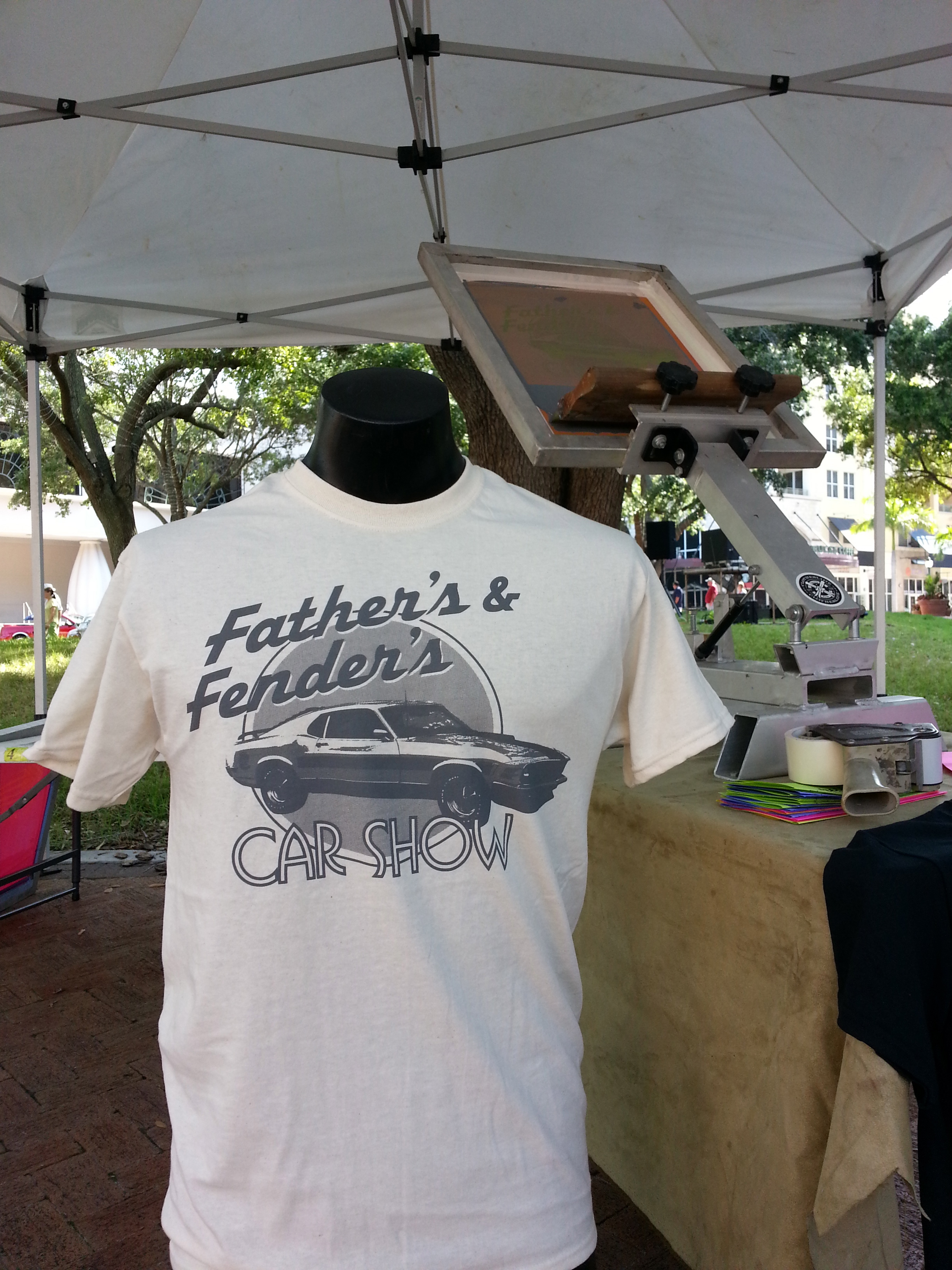 Father's & Fenders Car Show