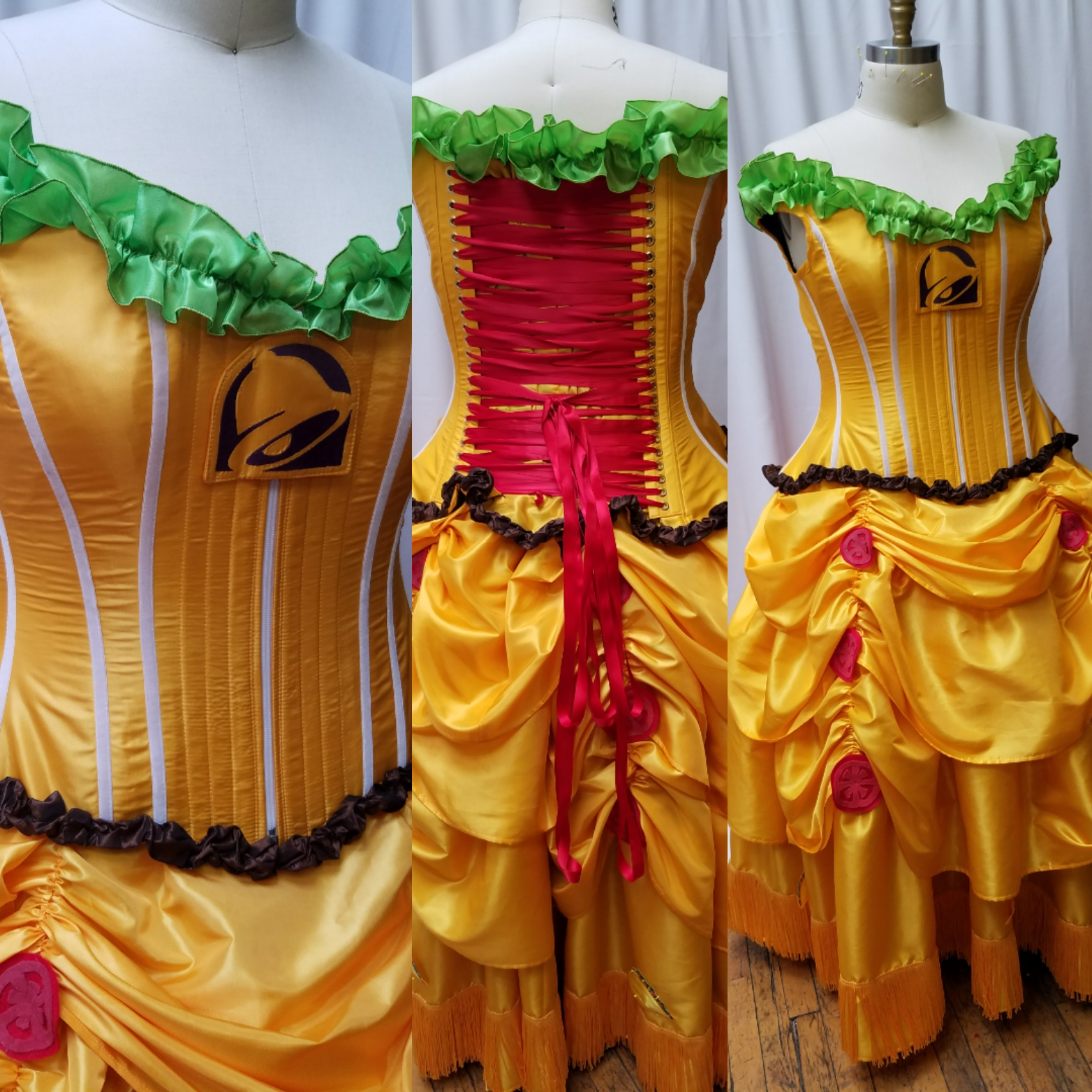 Taco Belle Gown