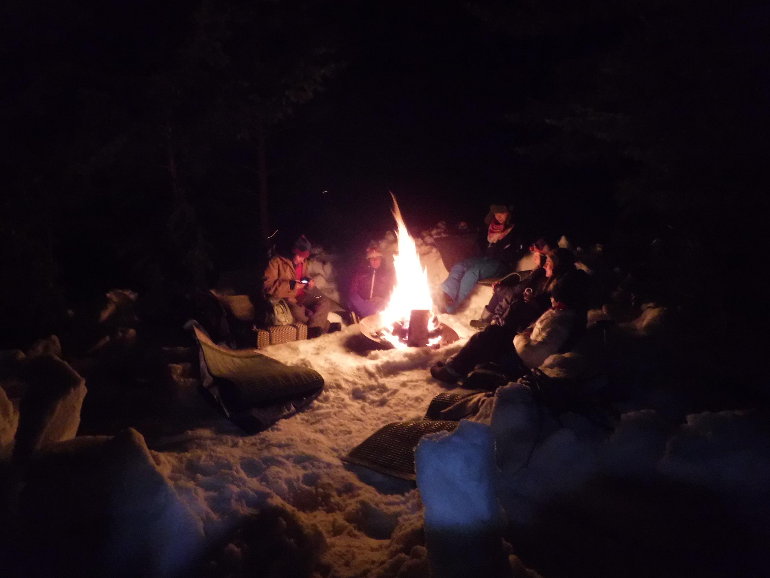 Campfire stories.