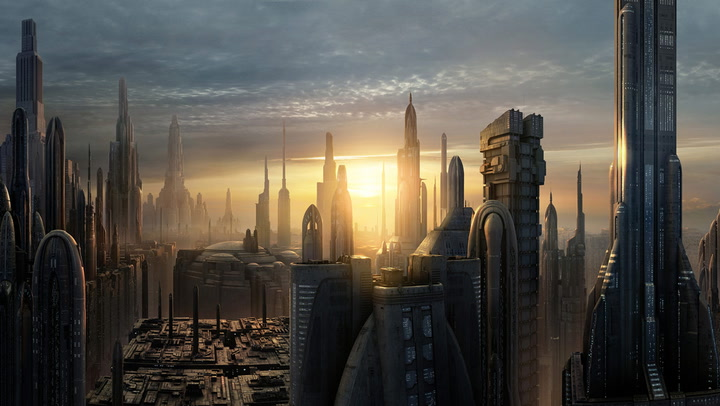 Coruscant, from Wookipedia
