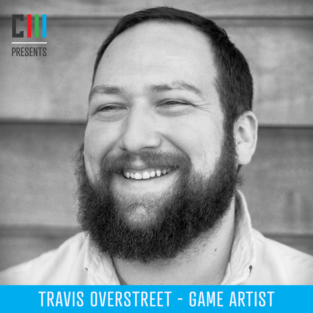 Travis Overstreet - Game Artist - TestTravis Overstreet is a Game Artist focusing on concept design, illustration and modeling. He has a BFA in fine art and attended Savannah College of Art and Design's graduate animation program. With almost a decade of experience in advertising, effects, film and games, he is a Lead Artist at Everi Games.