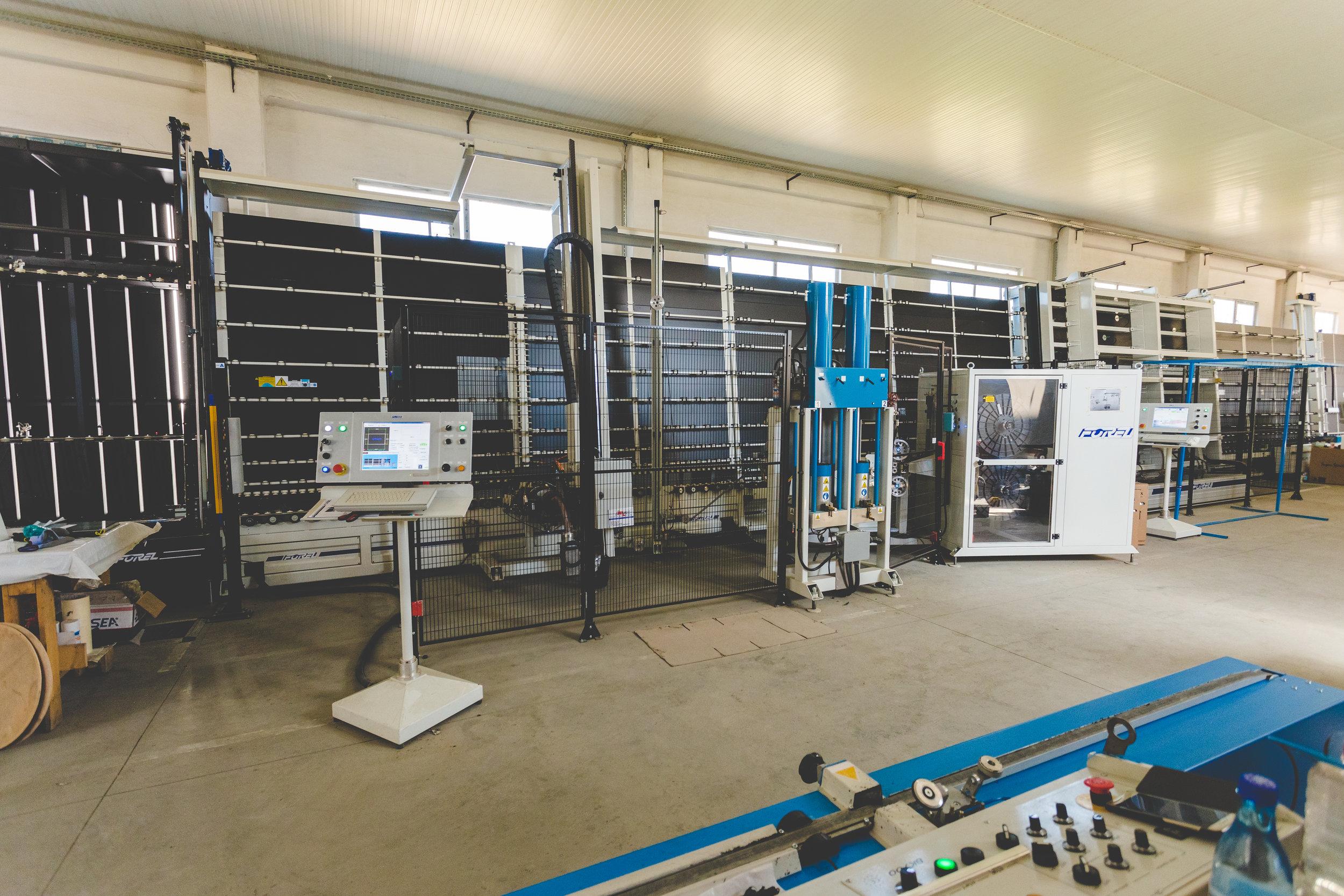 Forel IGU line in Silcar plant