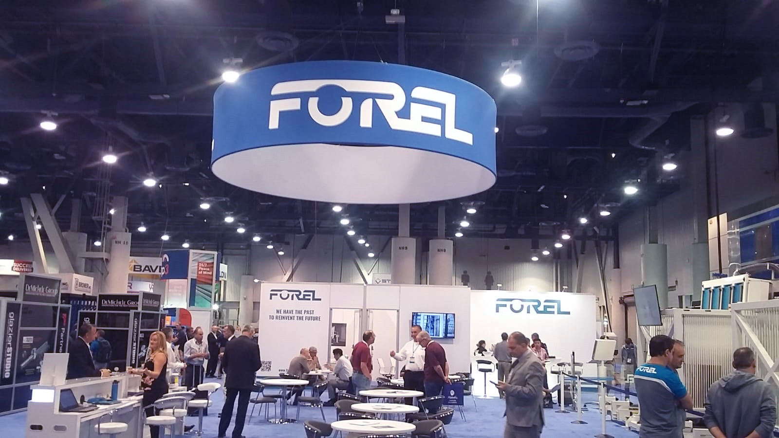 Forel Booth at GBA 2018
