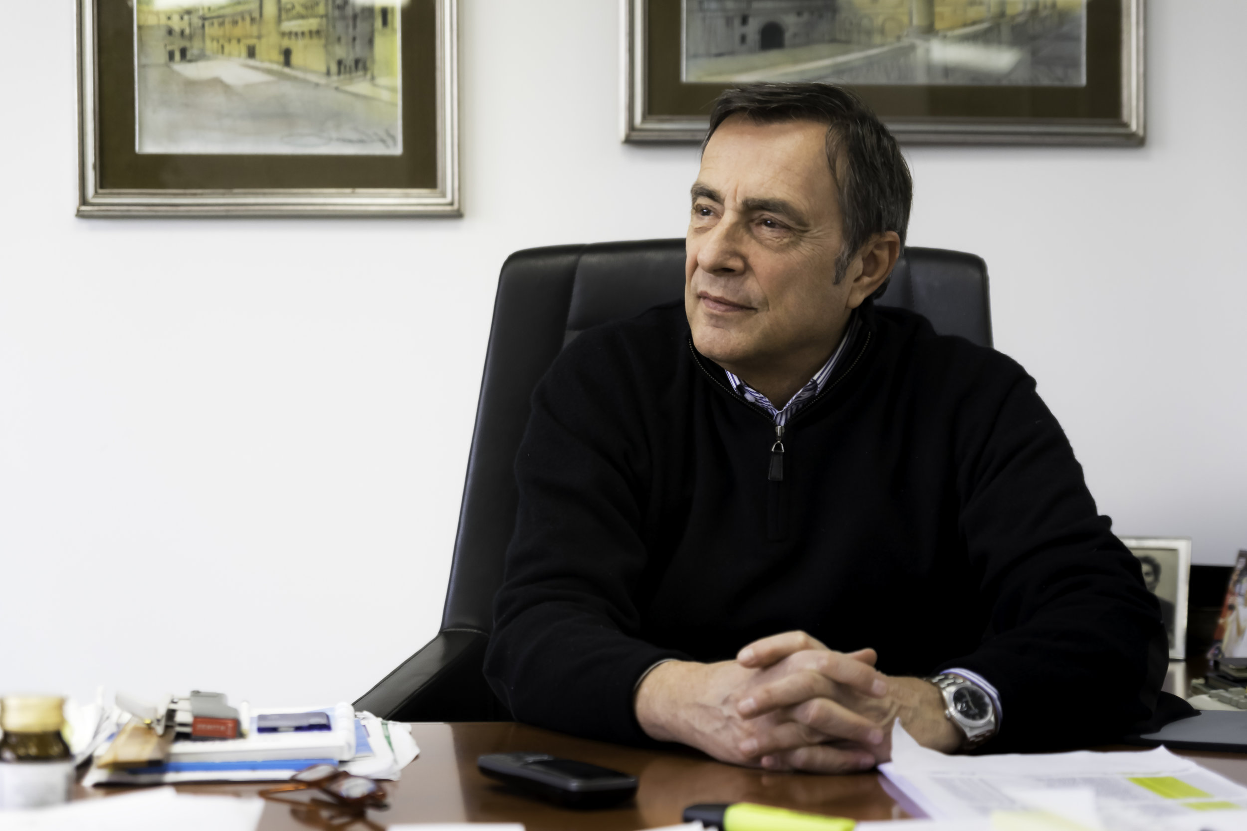 Roberto Pastore, owner of Vetrodomus