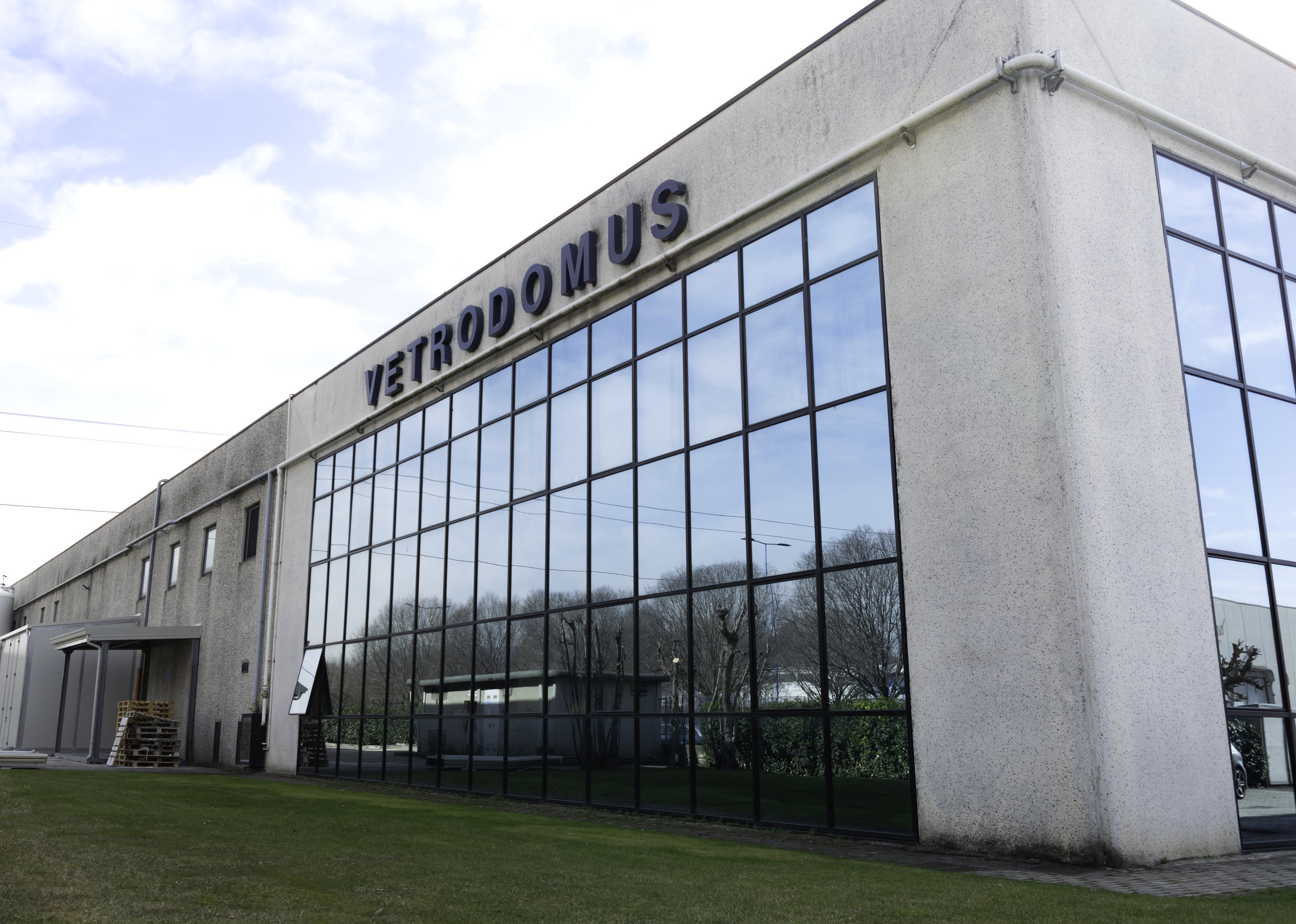 Vetrodomus Headquarters in Brescia (Italy)