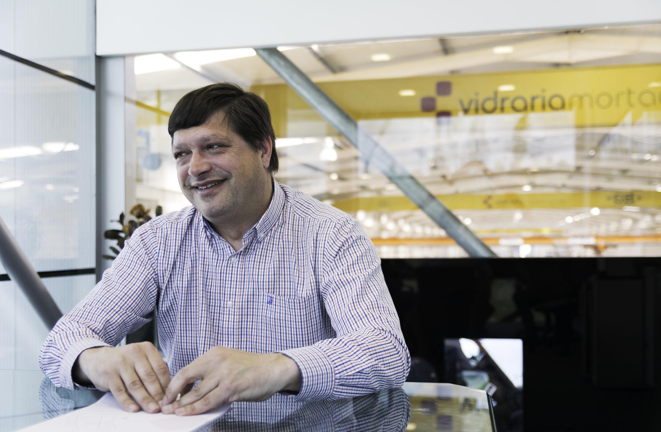 Josè Pires, CFO of VIdraria Mortagua
