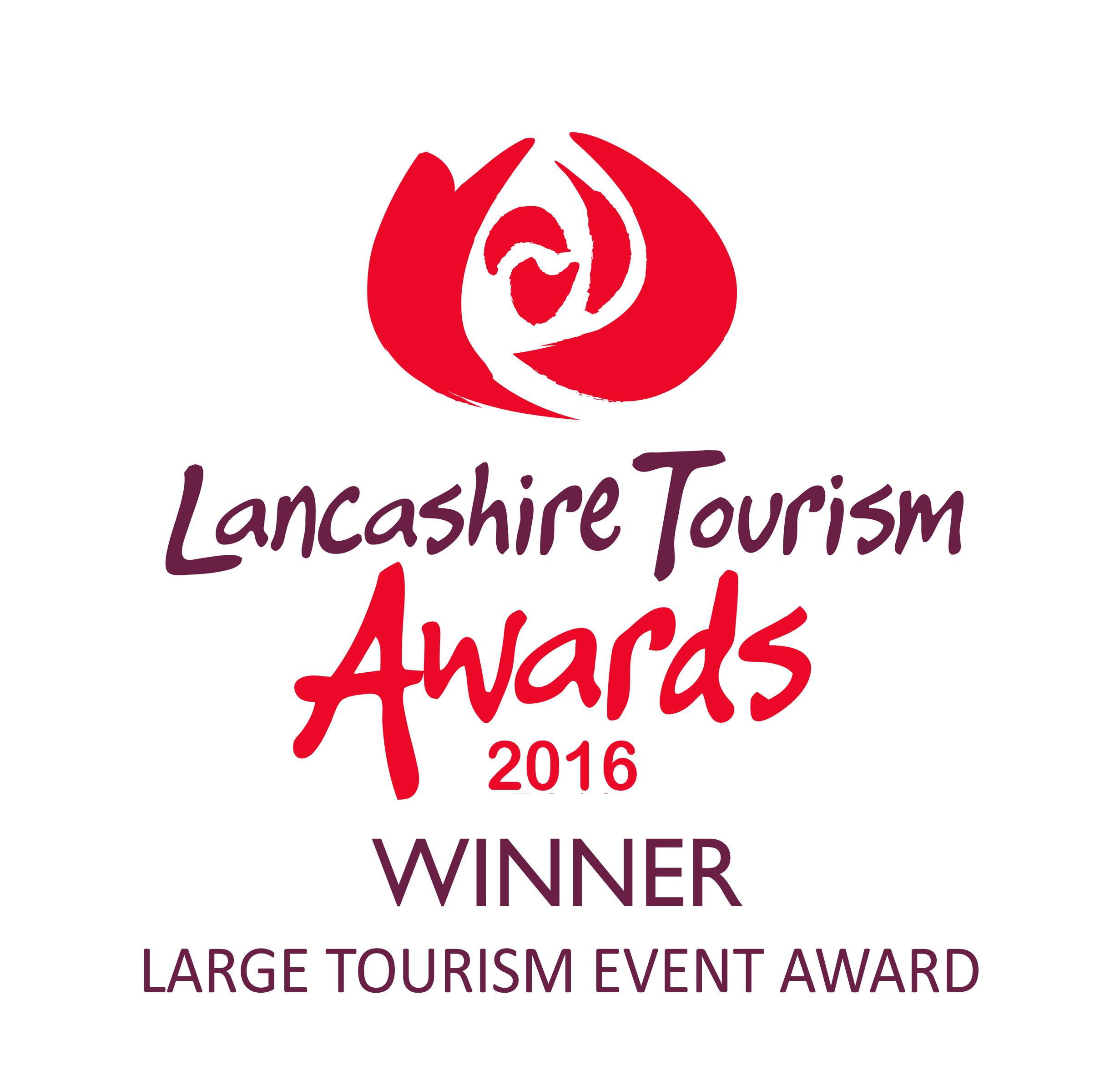 Lancashire Tourism Awards 2016  winners logo Large Tourism Event Award.jpg