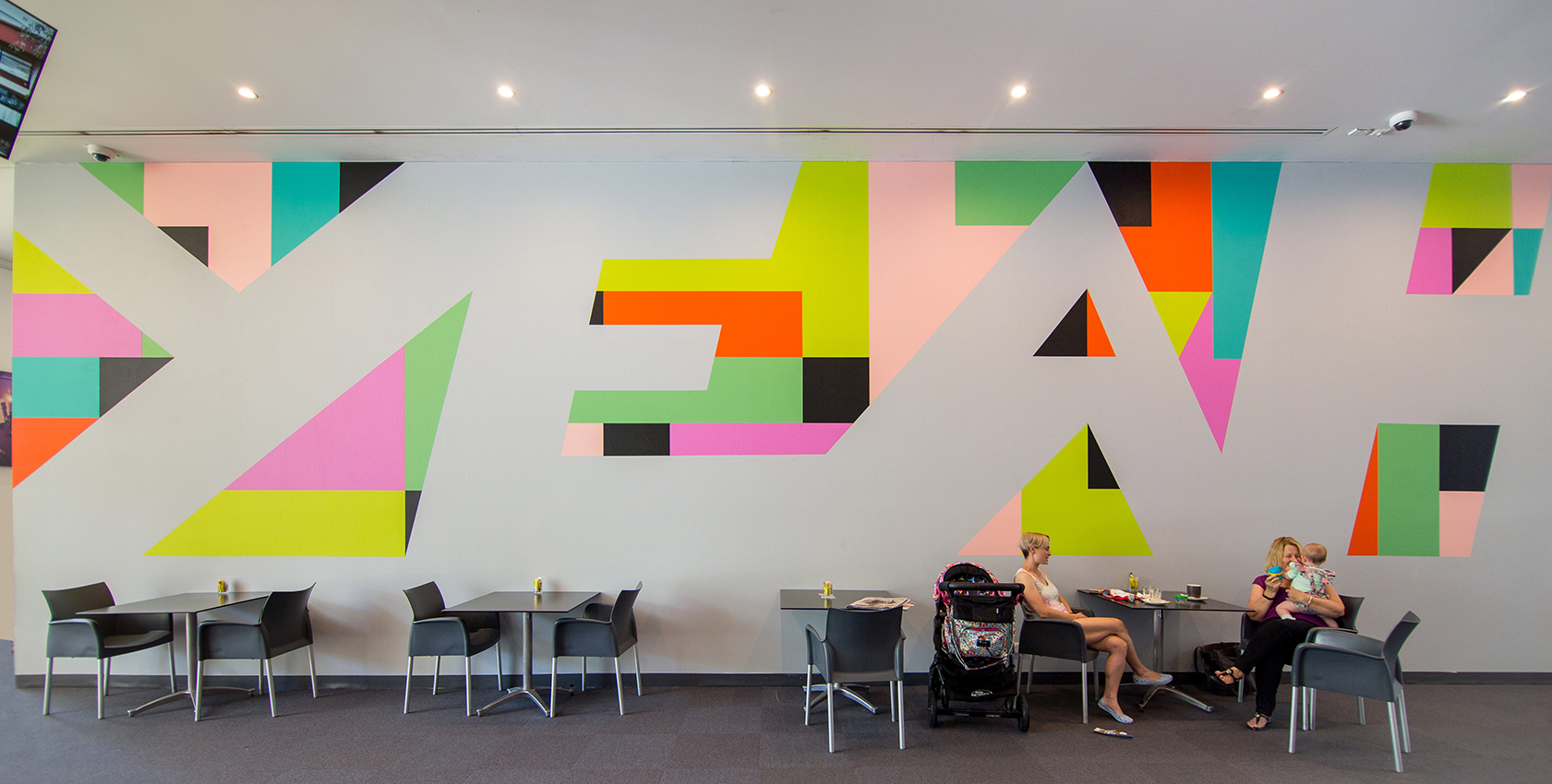 Shepparton Art Museum, Drawing Wall #28, YEAH