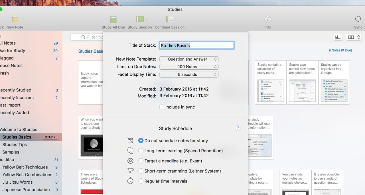 Studies Mac 破解版 优秀的抽认卡制作工具-麦氪派