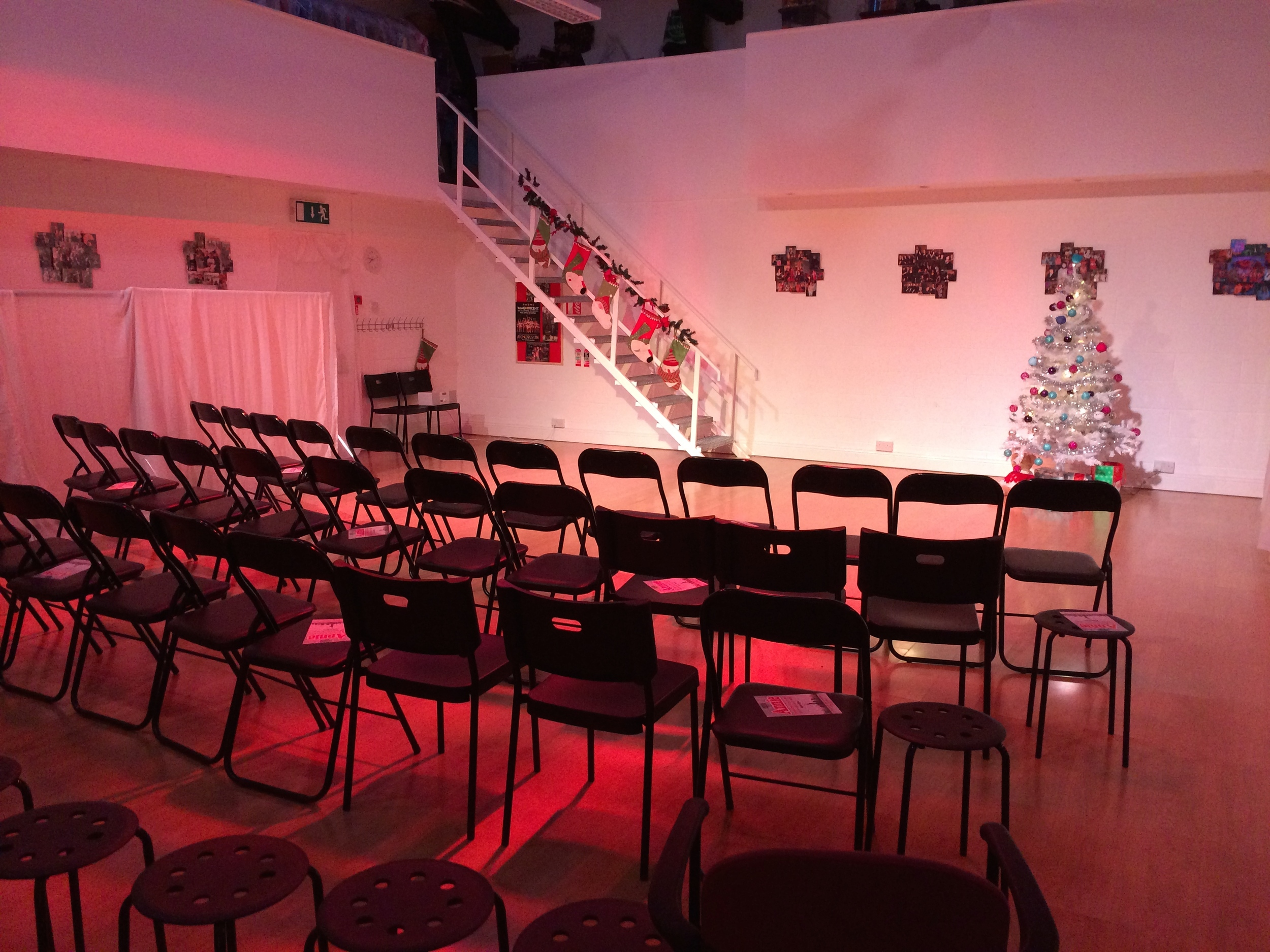 Set up for Christmas Recital Clonskeagh.jpg