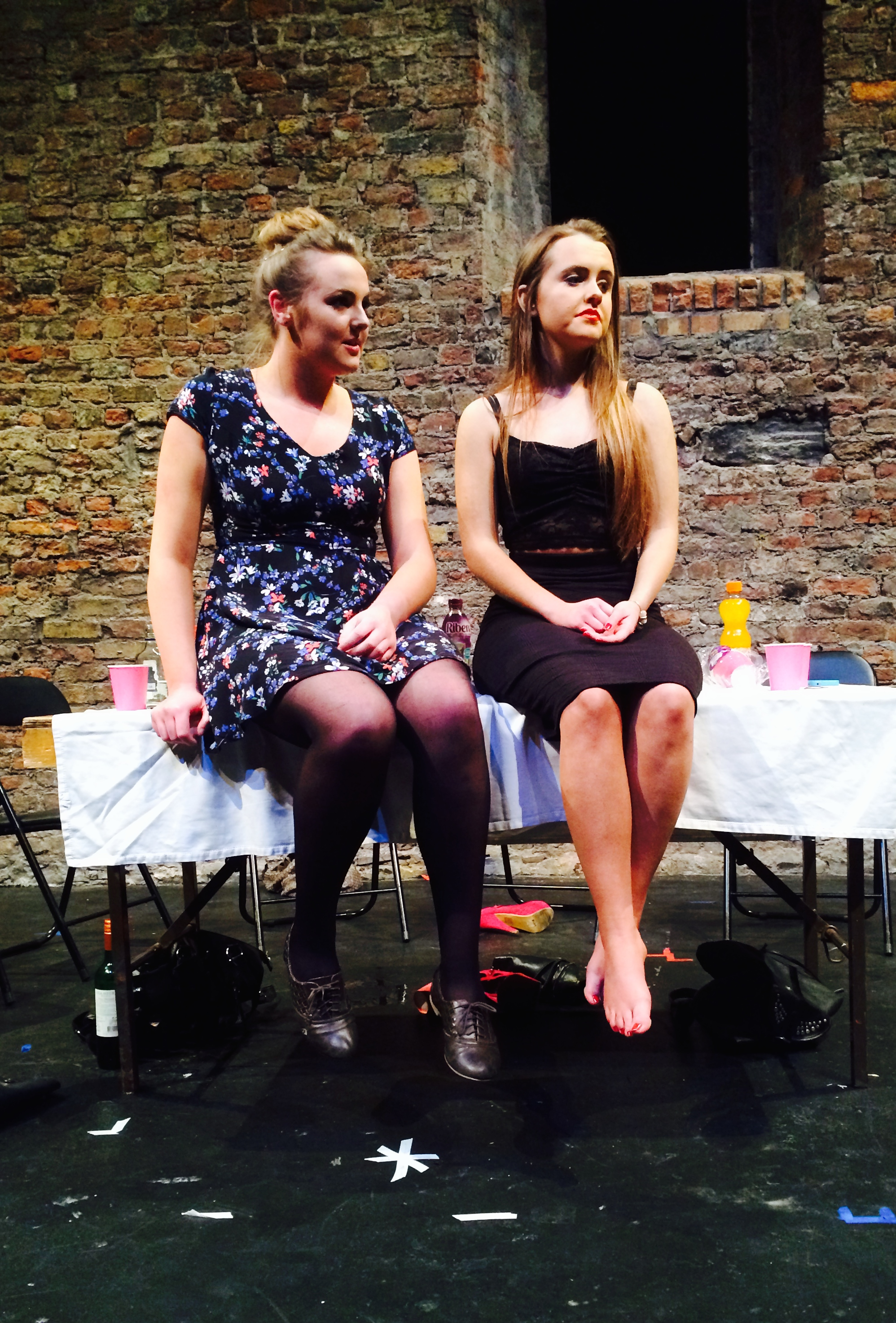 Scene from 8 Chairs by Moths Theatre Company