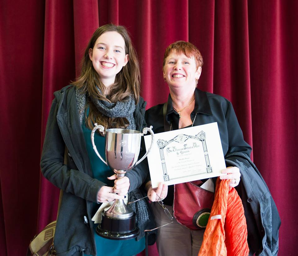 Martha Breen Leinster School of Music & Drama Excellence Award Winner 2014 - Just graduated from her BA in Drama at The LIR, Trinity College, Dublin and currently working with Rough Magic Theatre Company.