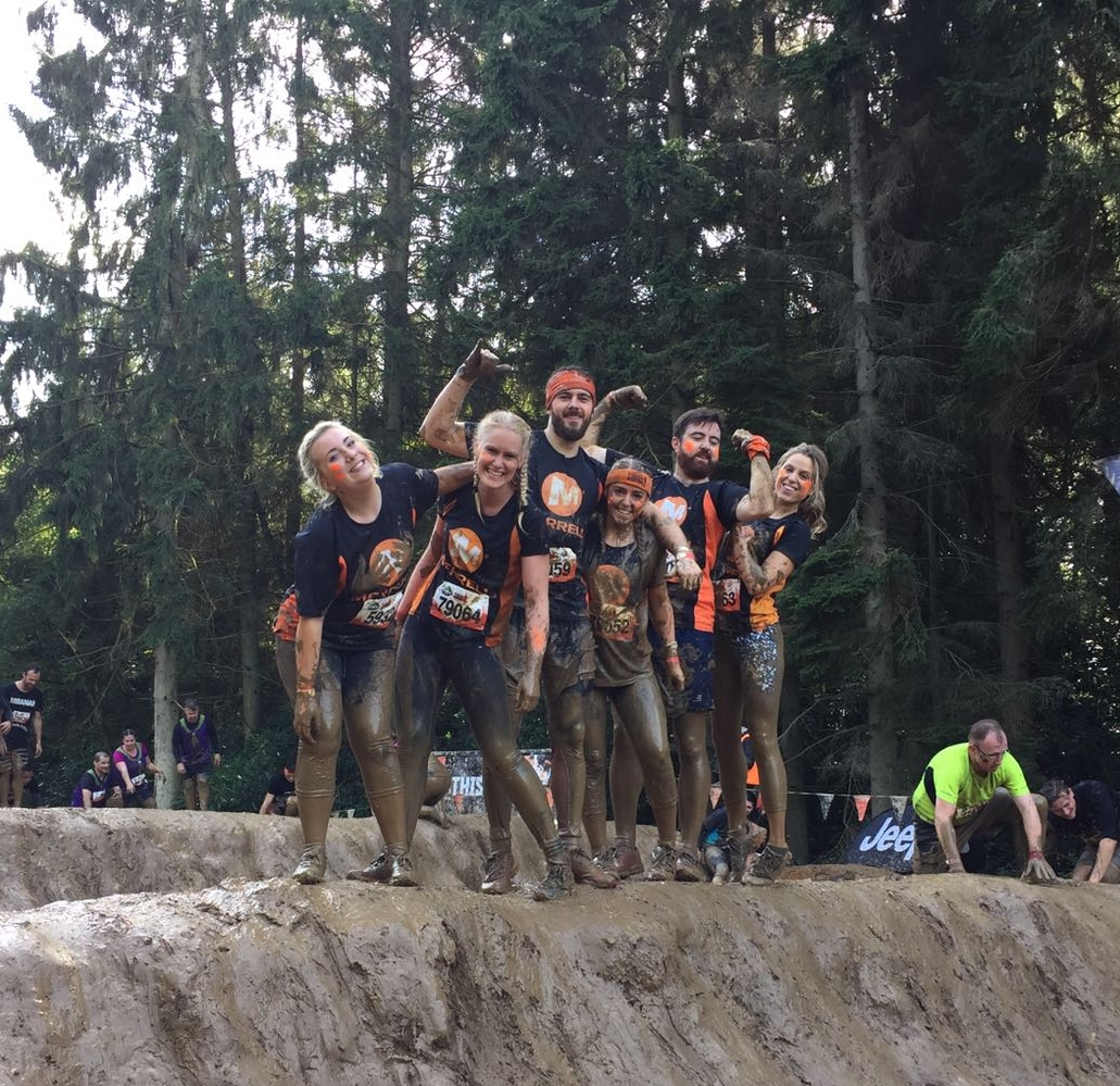 Tough Mudder, September 2016 - The perfect way to challenge yourself and have a tonne of muddy fun in the process