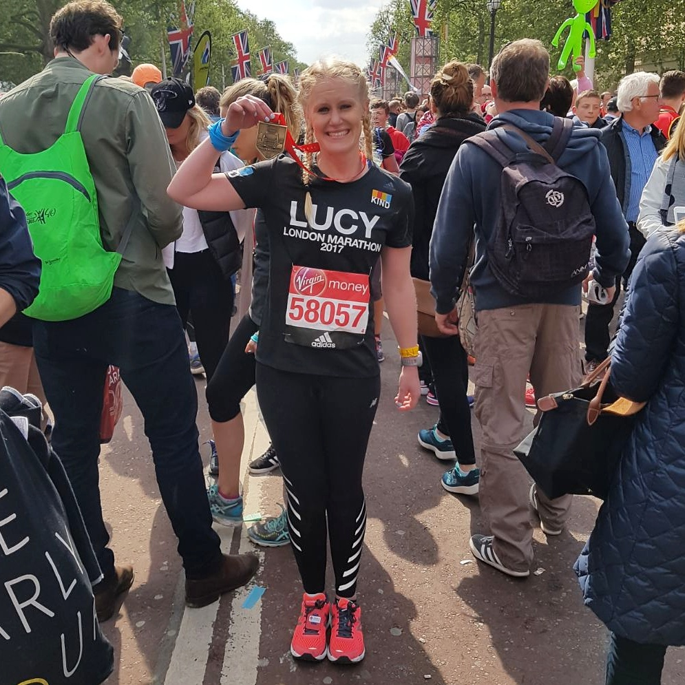 I did it - I ran the London Marathon in 4:17.