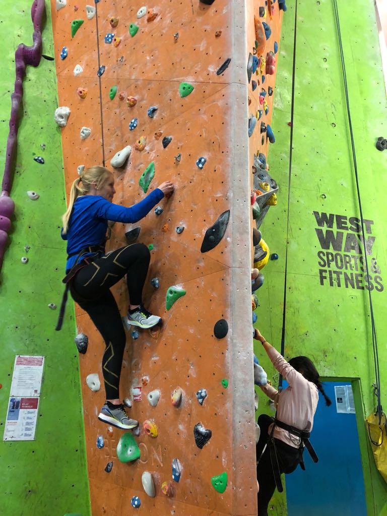 Indoor Climbing at Westway Sports and Fitness Centre