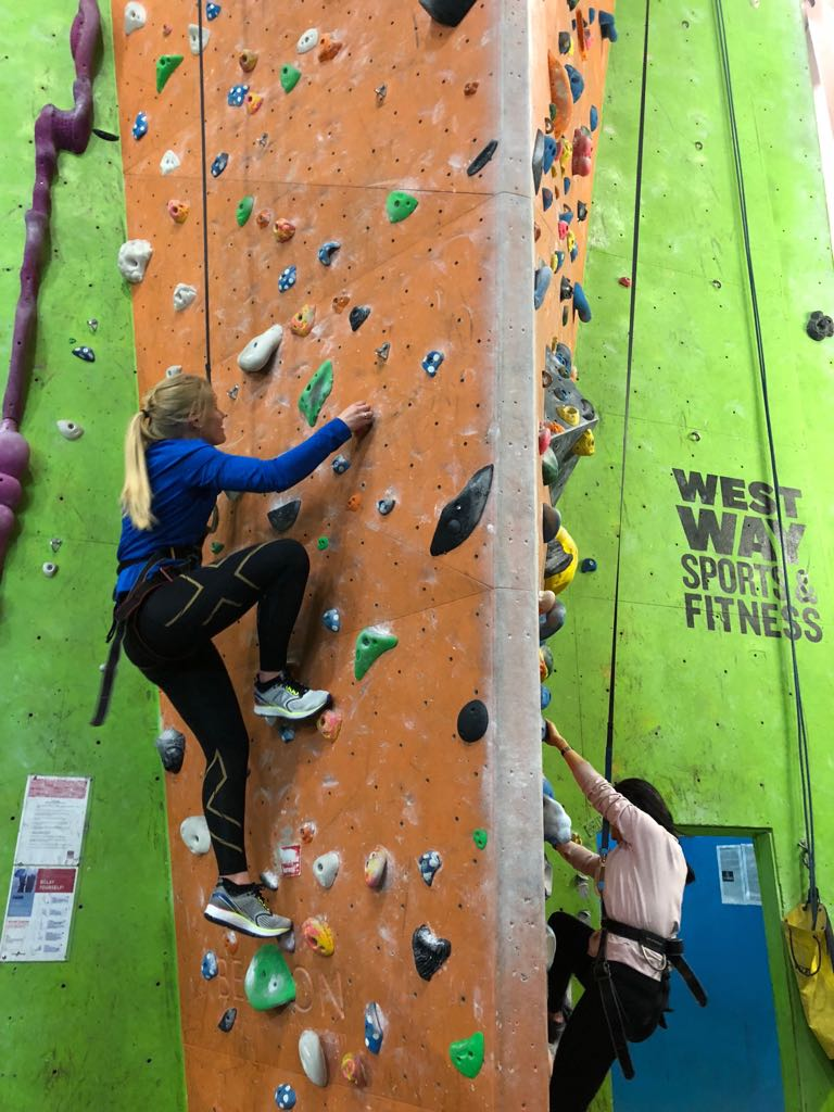 Living In The Weekend - Try Indoor Climbing