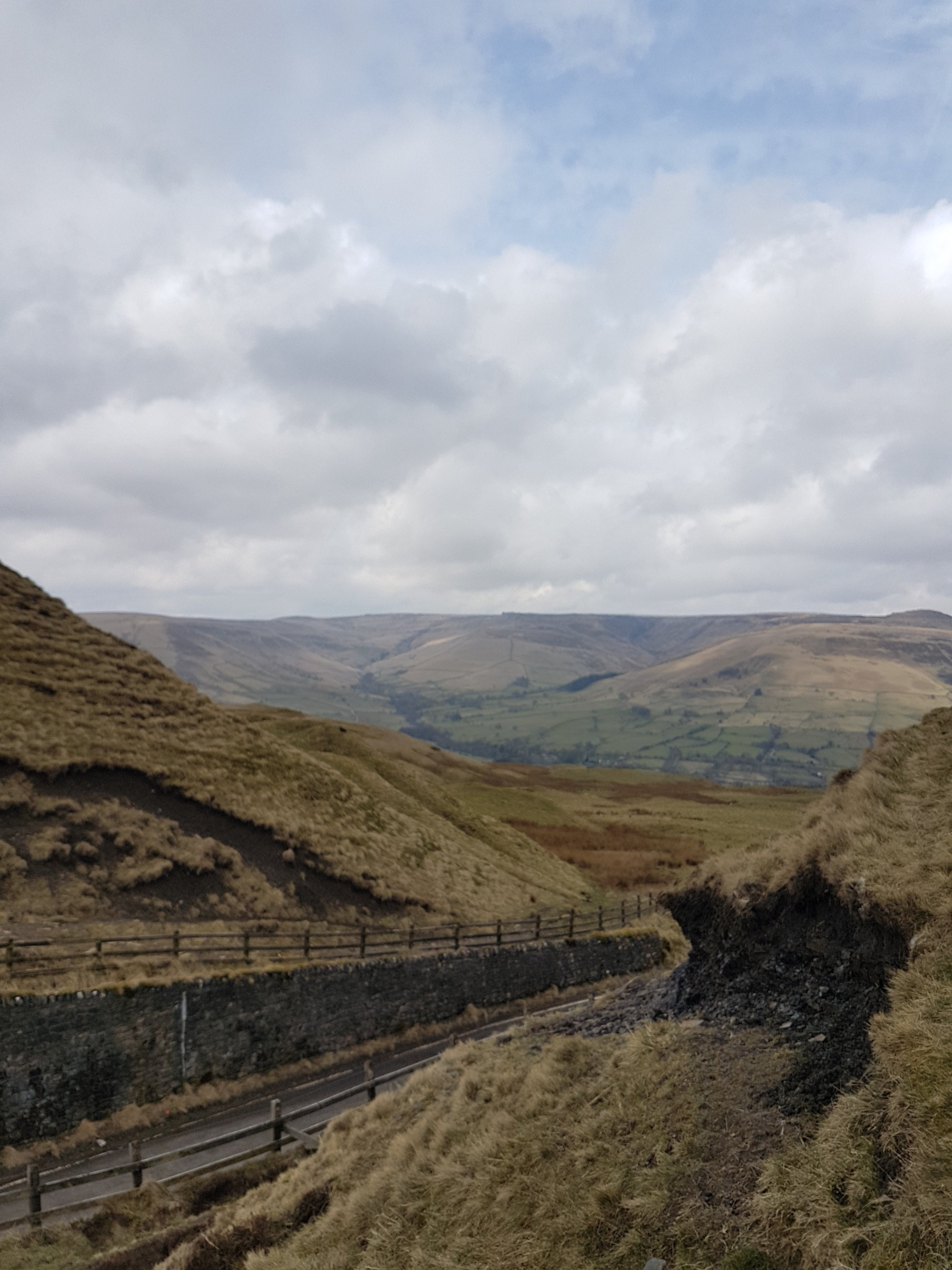 Mam Tor - view before the summit