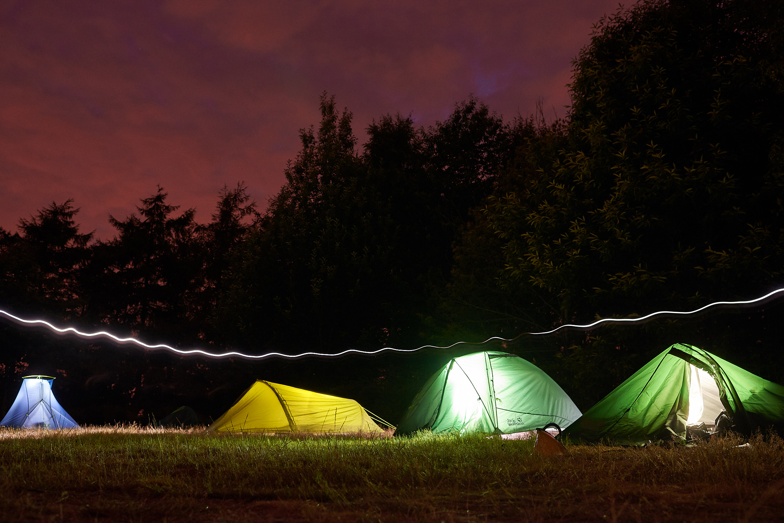 Wiggle now stock Jack Wolfskin tents