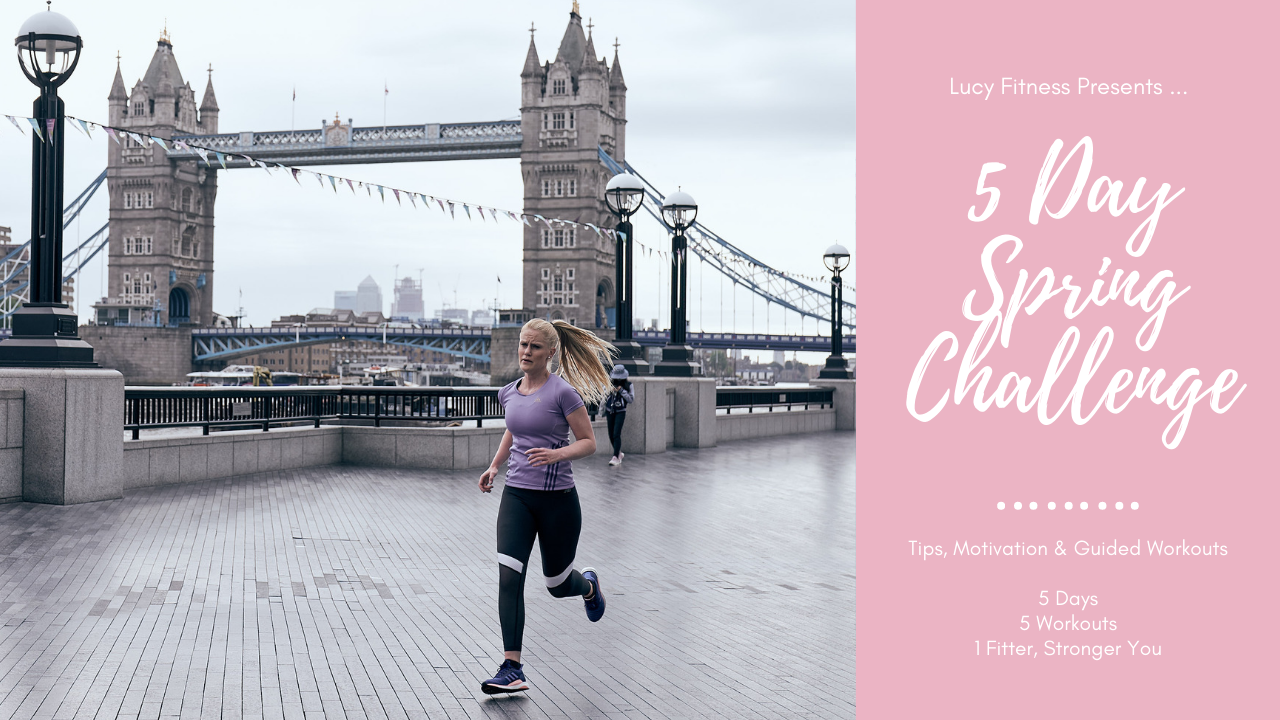 Lucy Fitness Spring Challenge