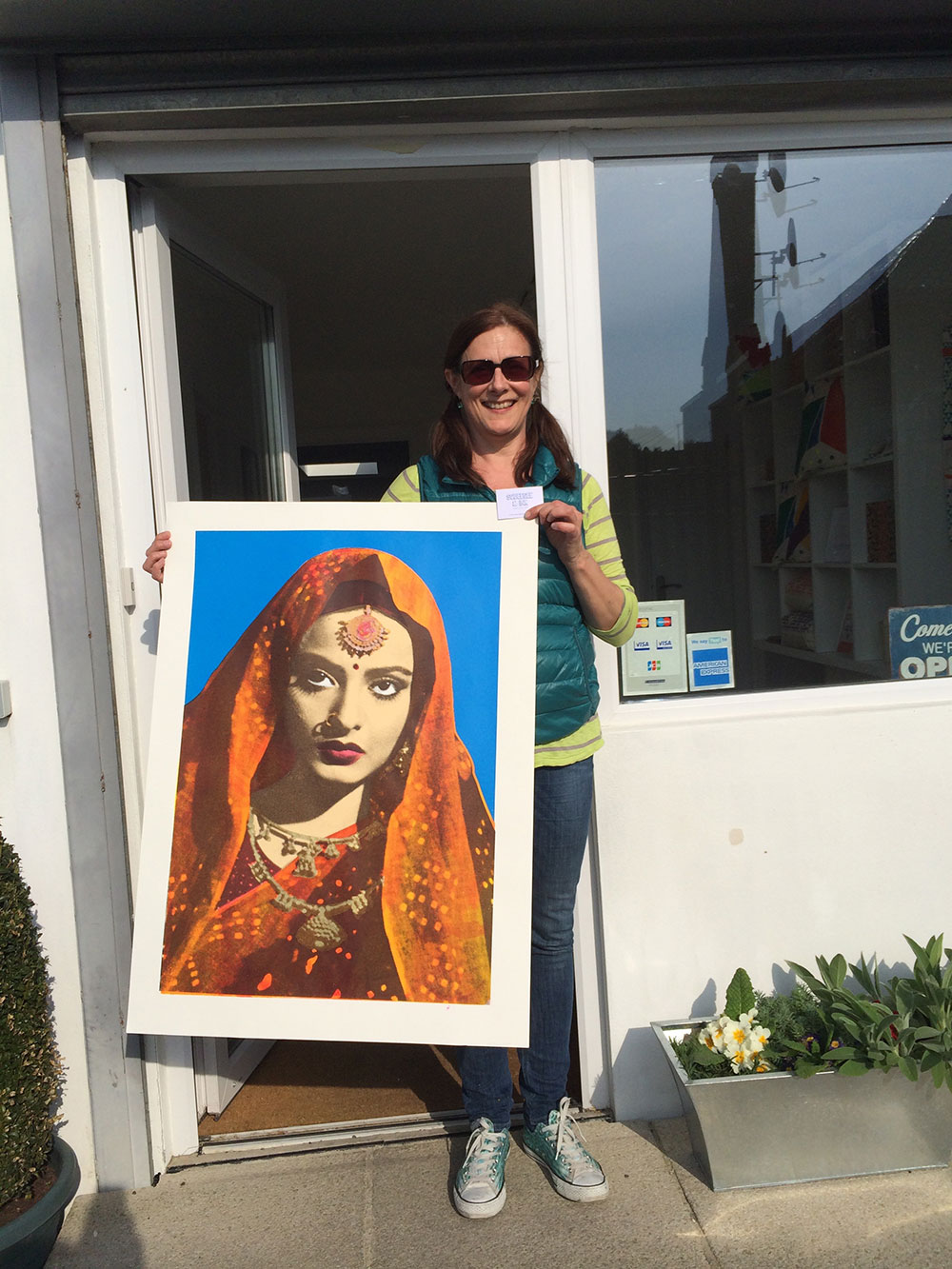 Rekha complete in the sunshine