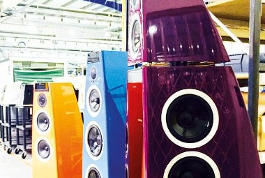 DSP Special Edition Loudspeakers in Select Colours ready for the High End Show In Munich 2016
