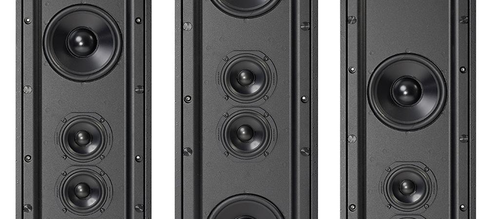 Meridian 'Versatile' DSP640 In Wall Loudspeakers