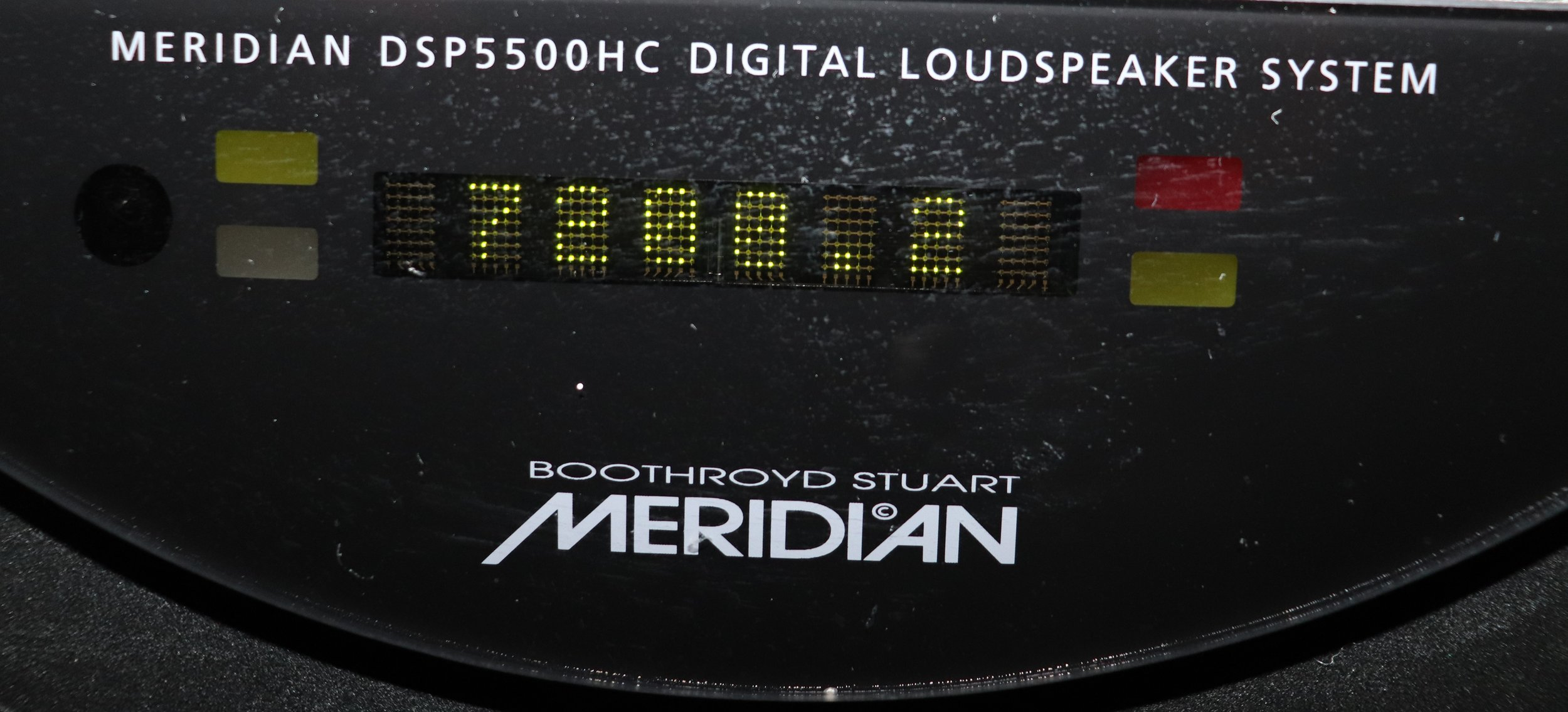 DSP5500HC (.2 Smiley) Eight Character Dot Matrix Display (Introduced 2001 for the .2 Smiley)