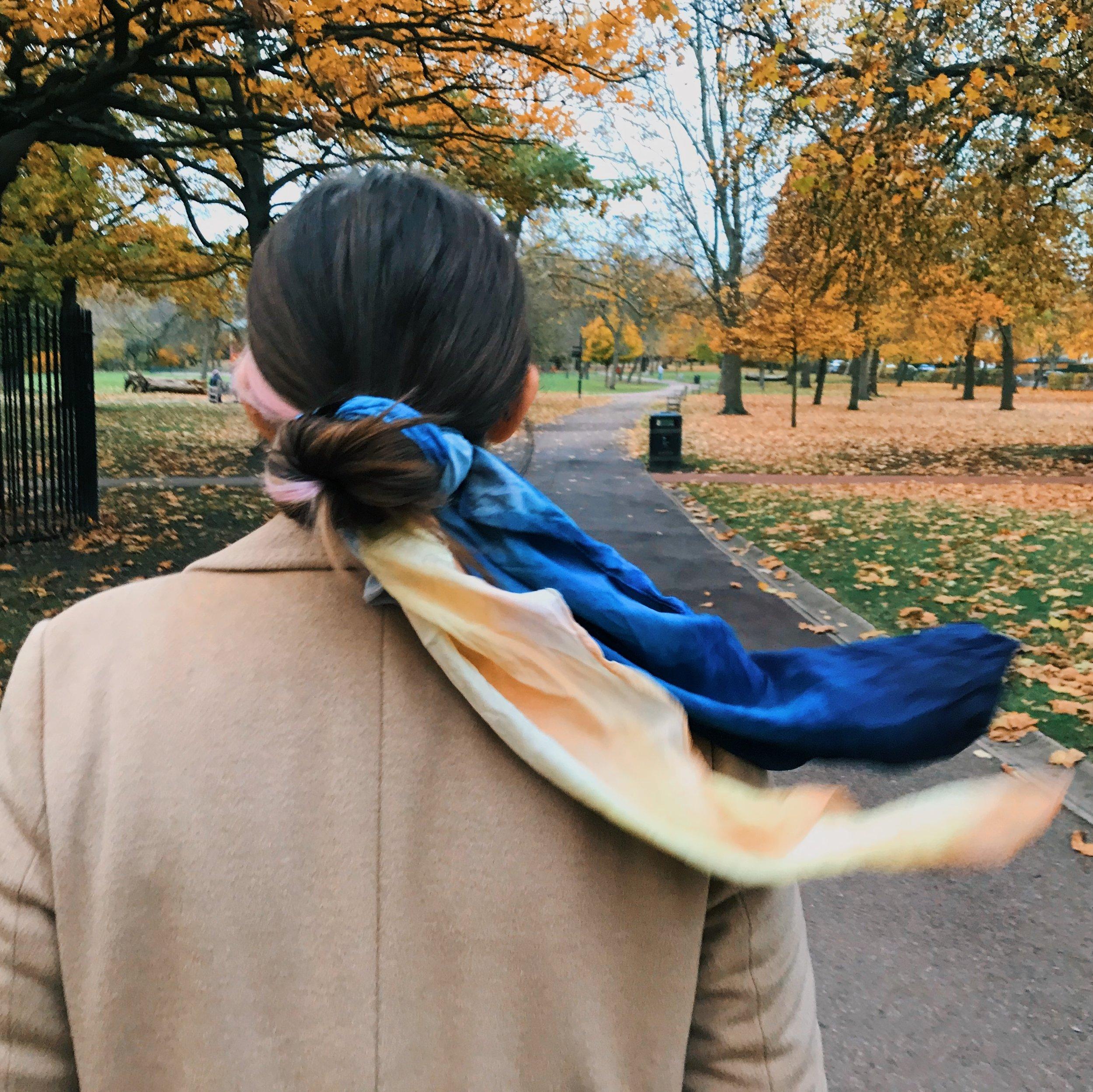 Hari in Queen's Park in London.
