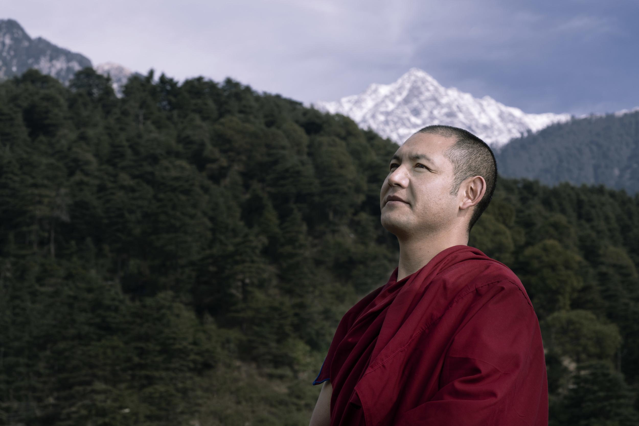 Lobsang Tenpar | Tibetan monk